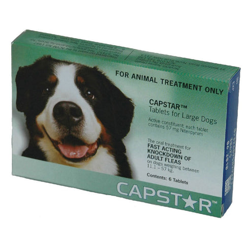 CAPSTAR Flea Treatment for Dogs up to 57kg