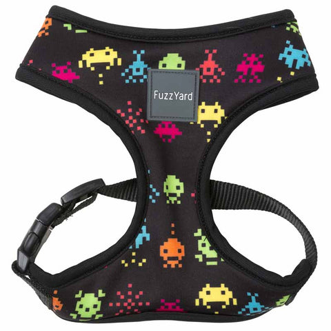 Fuzzyard Space Raiders Soft Dog Harness