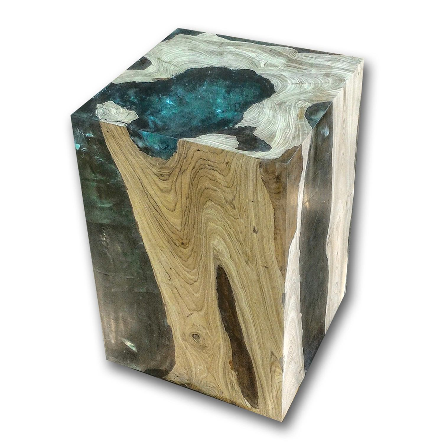 Custom Teak Root and Resin CR-3000 by AIRE Furniture