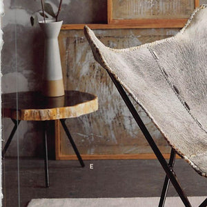 Roost Petrified Wood Tripod Tables