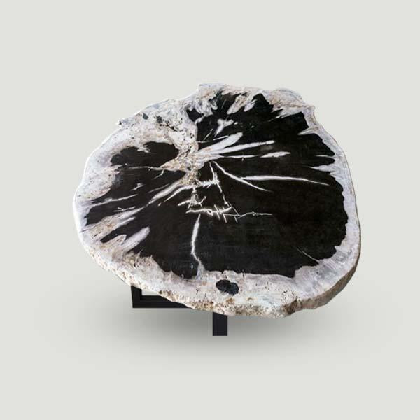 Petrified Wood Slab With Custom Made Base PF-1113  by Aire Furniture