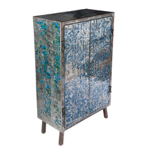 Metal Recycled Oil Drum Armoire R-1080 by AIRE Furniture