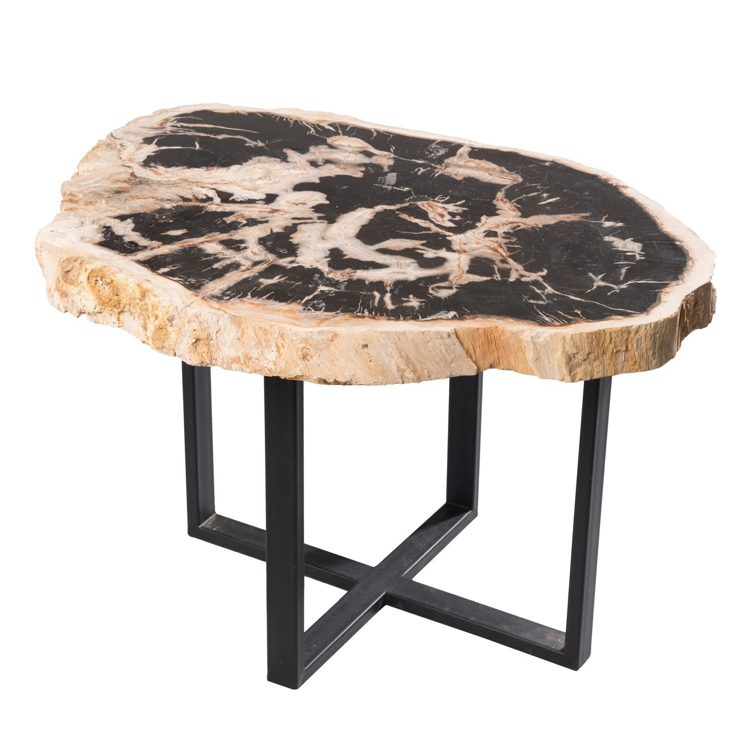 Petrified Wood Lower East Side Table PF-1040 by AIRE Furniture
