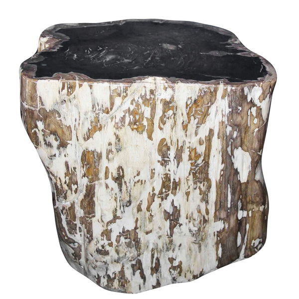 Petrified Wood Log Stool PF-2029 by AIRE Furniture