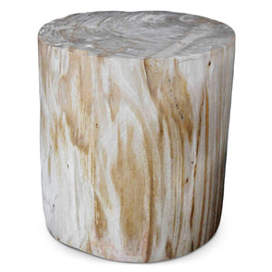 Petrified Wood Log Stool PF-2033 by AIRE Furniture
