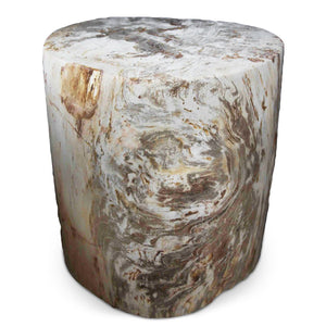 Petrified Wood Log Stool PF-2035 by AIRE Furniture