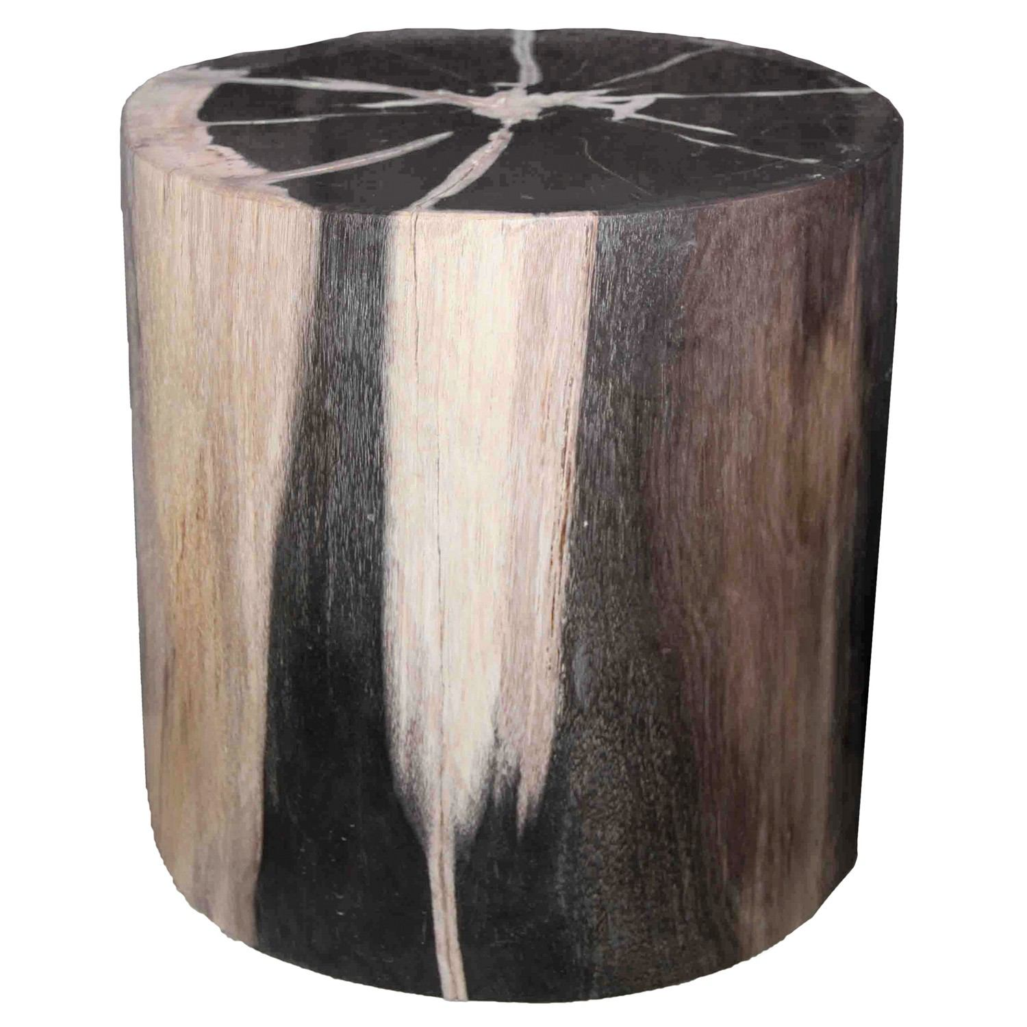 Petrified Wood Log Stool PF-2037 by AIRE Furniture