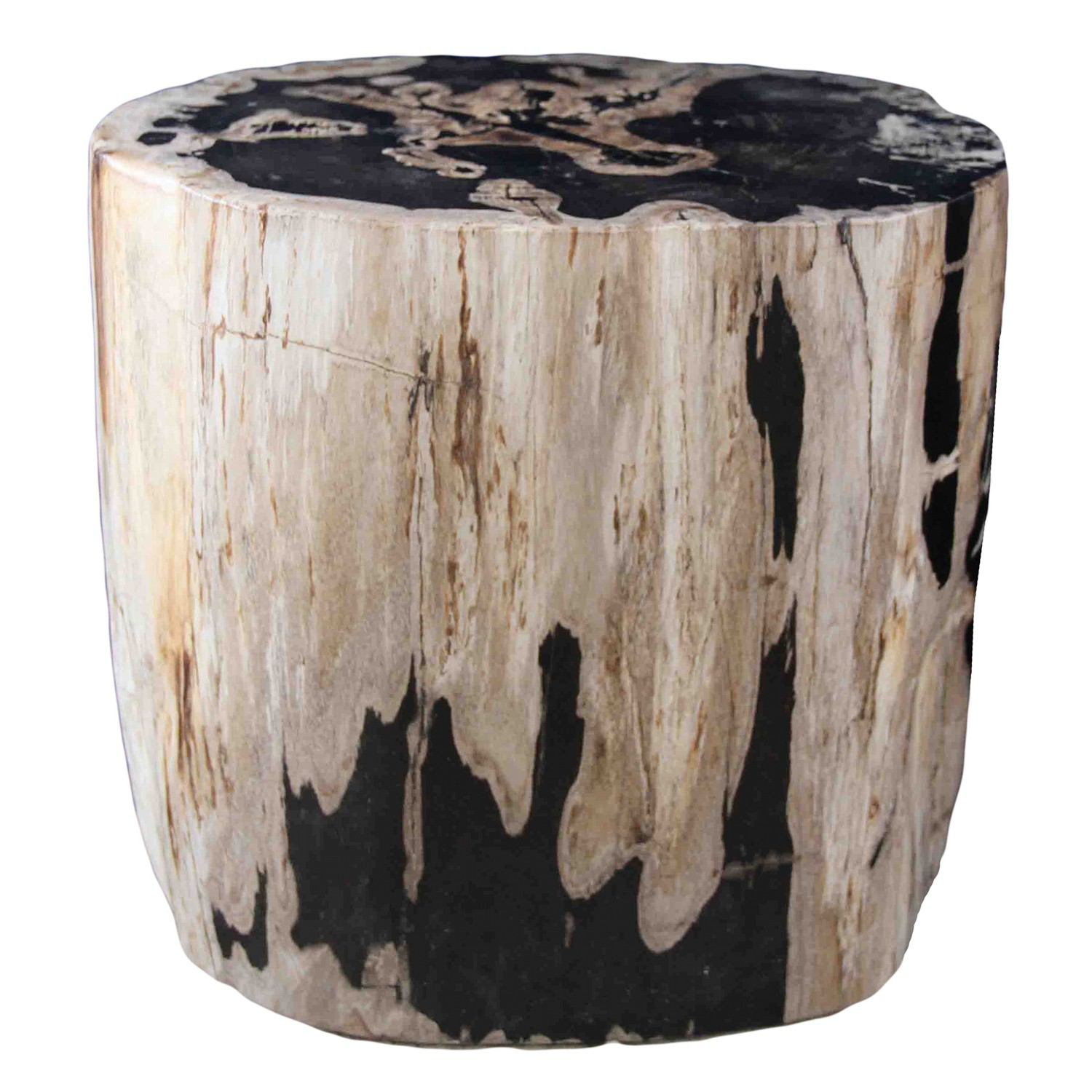 Petrified Wood Log Stool PF-2044 by AIRE Furniture