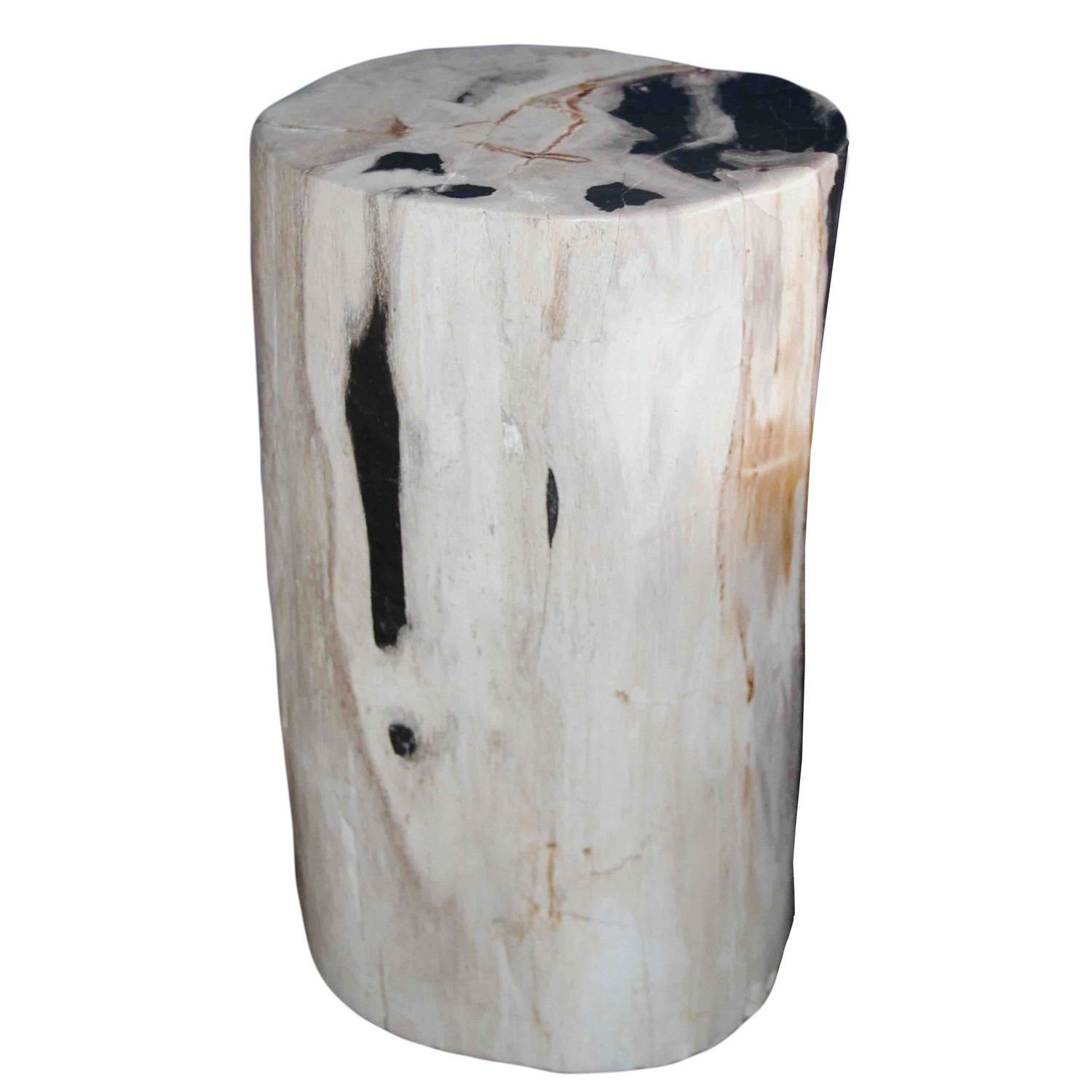 Groovy Petrified Wood Log Stool Pf 2052 By Aire Inzonedesignstudio Interior Chair Design Inzonedesignstudiocom