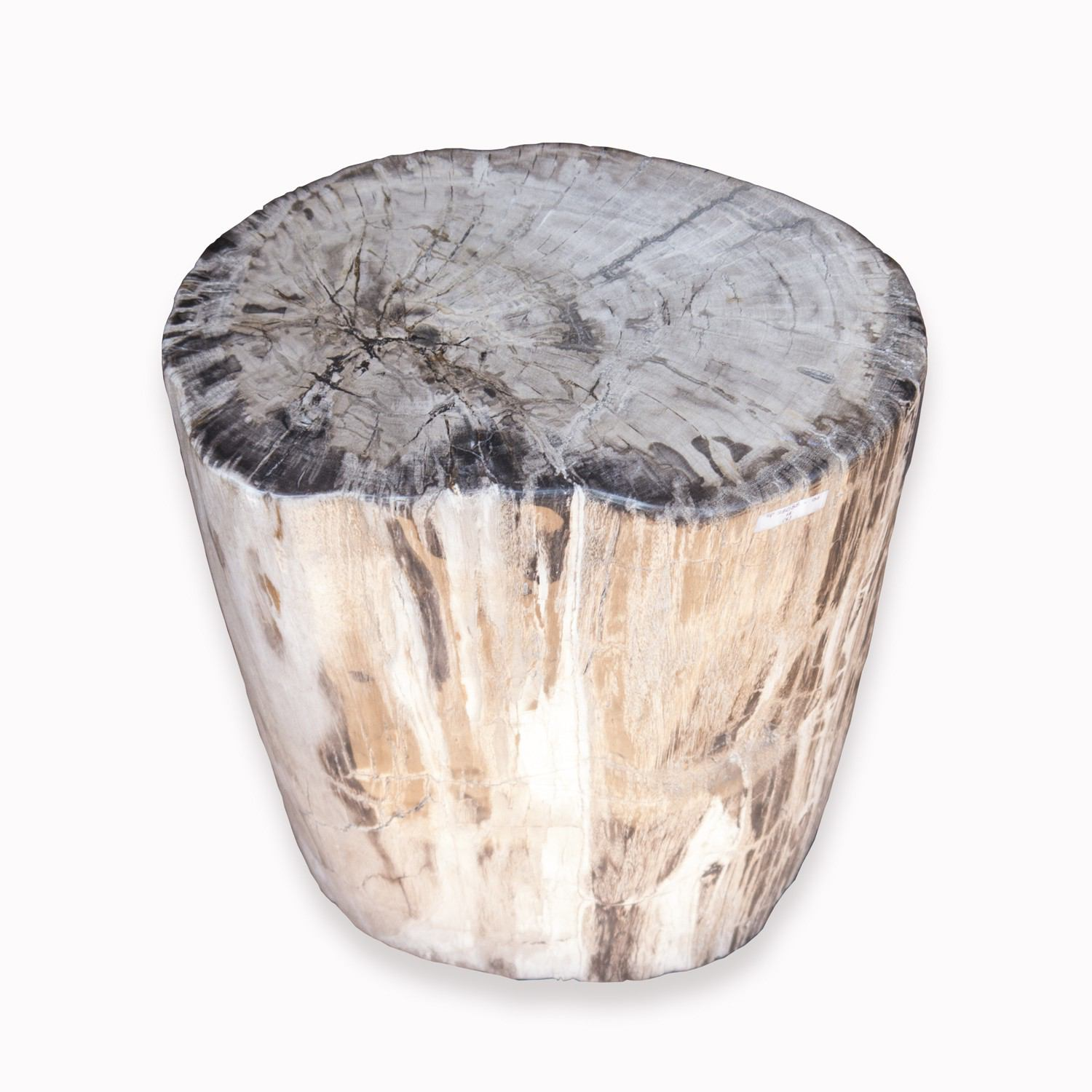 PF-2080 Petrified Wood Stool by AIRE Furniture