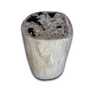 PF-2158 Petrified Wood Stool by AIRE Furniture
