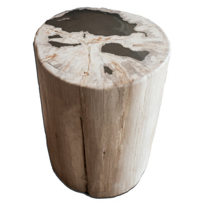 Petrified Wood Log Stool PF-2097