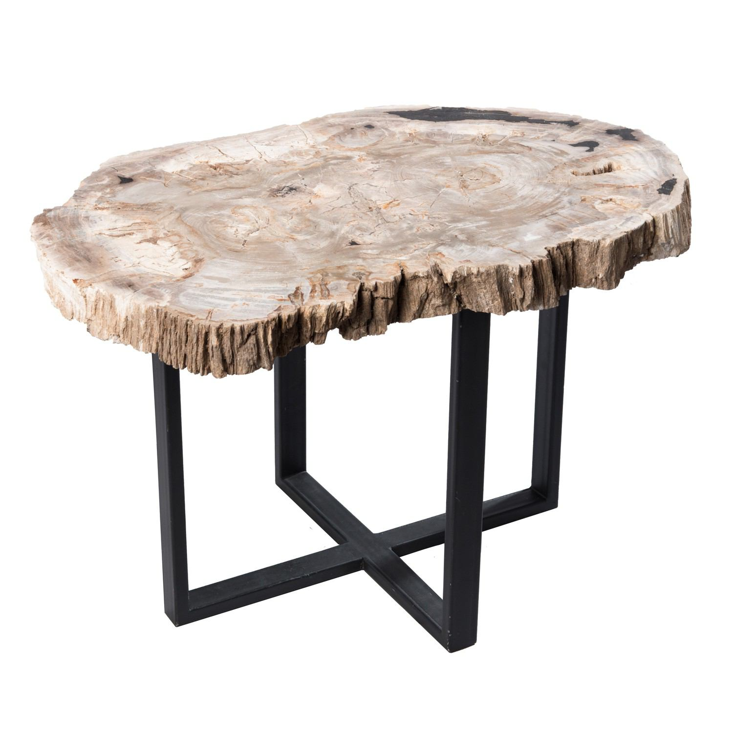 Petrified Wood Upper East Side Table PF-1050 by AIRE Furniture