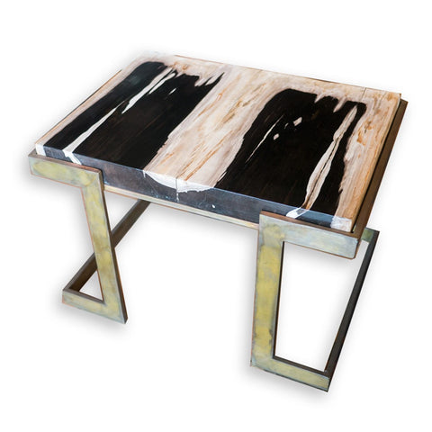 Petrified Wood Table PF-1070 by AIRE Furniture