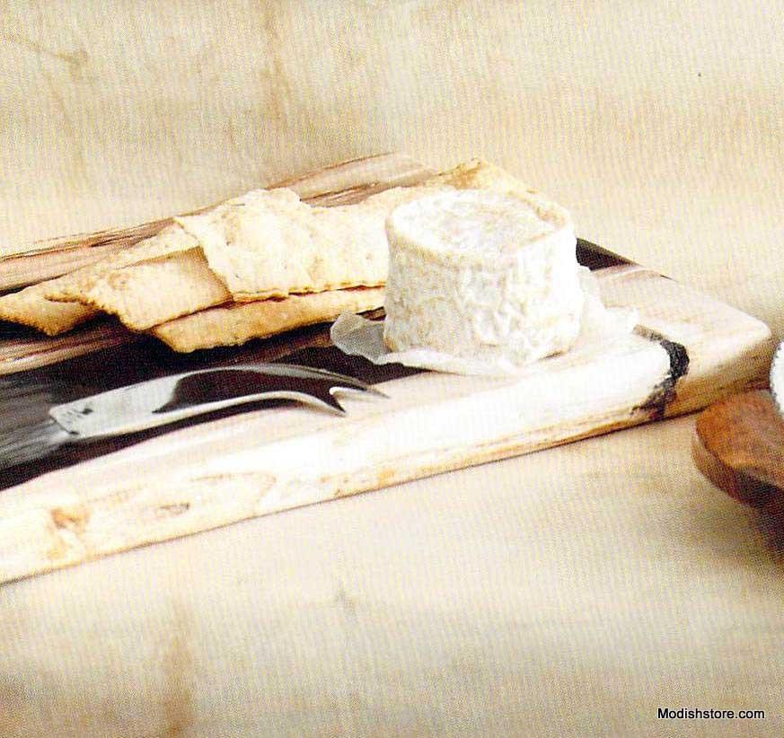 Roost Petrified Wood Cheese Board
