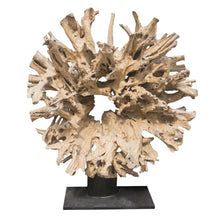 Round Sun Bleached Root Statue RF-1080 by AIRE Furniture