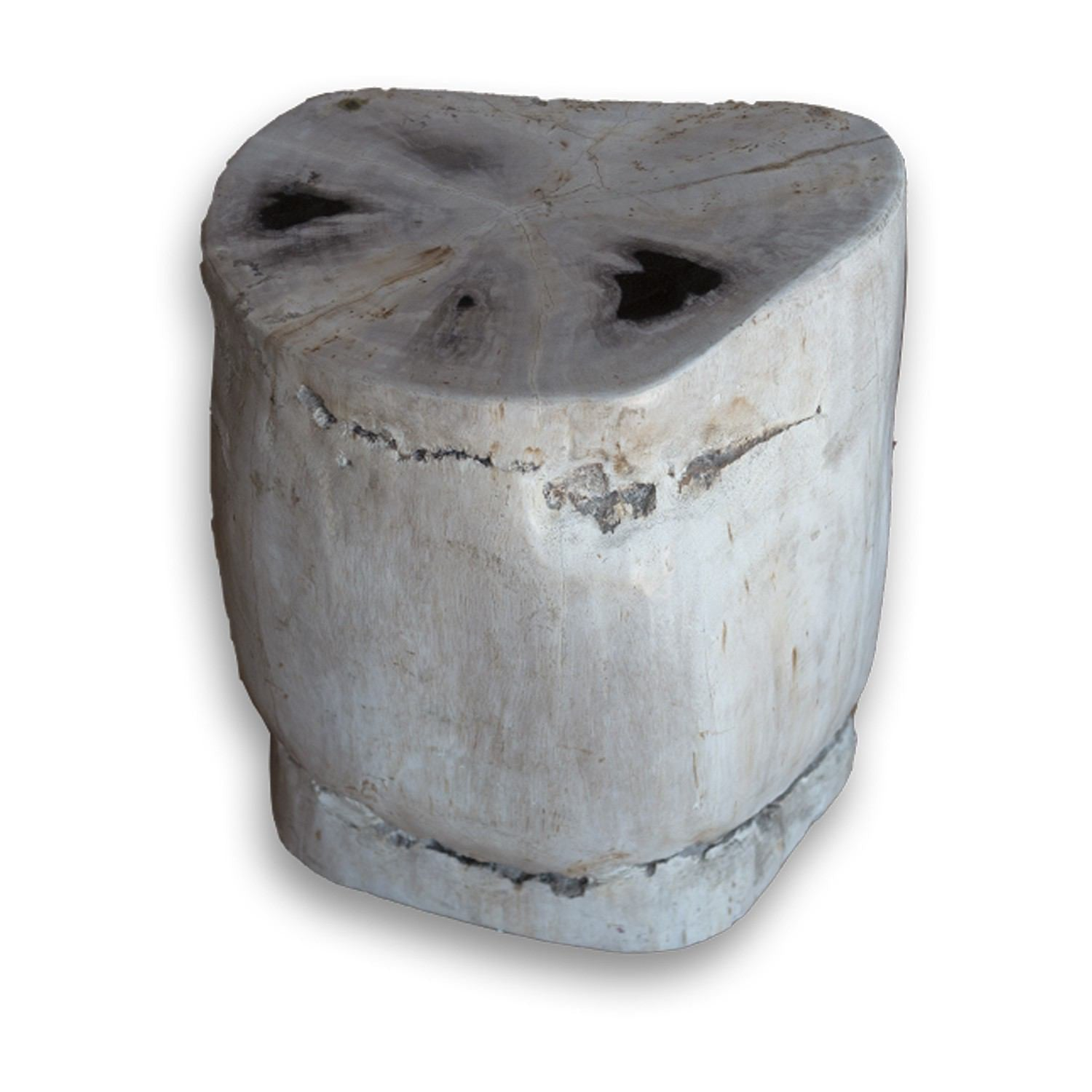 PF-2134 Petrified Wood Stool by AIRE Furniture