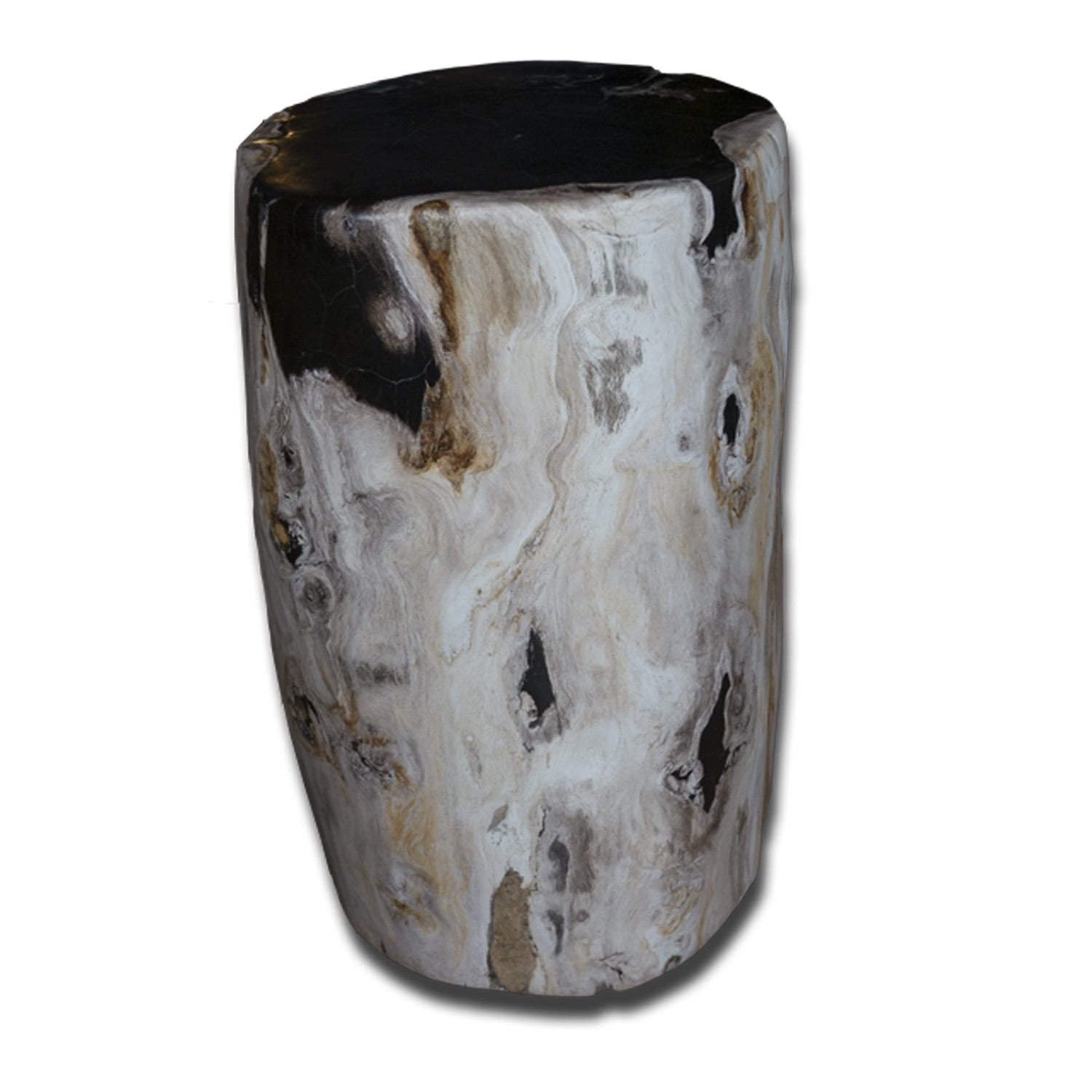 PF-2135 Petrified Wood Stool by AIRE Furniture