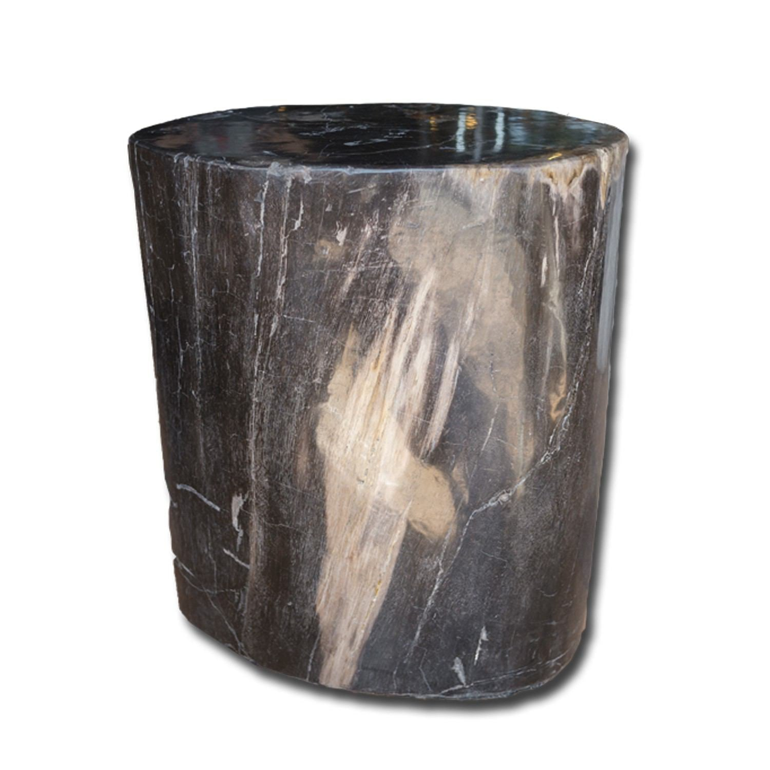 PF-2144 Petrified Wood Stool by AIRE Furniture