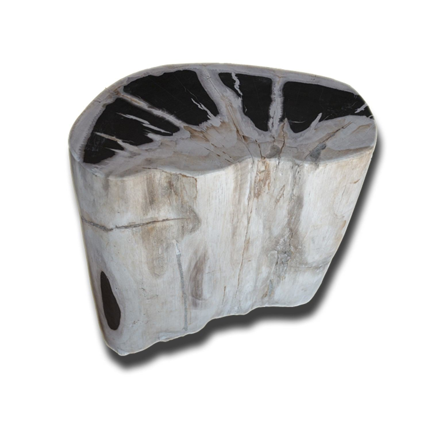 PF-2149 Petrified Wood Stool by AIRE Furniture