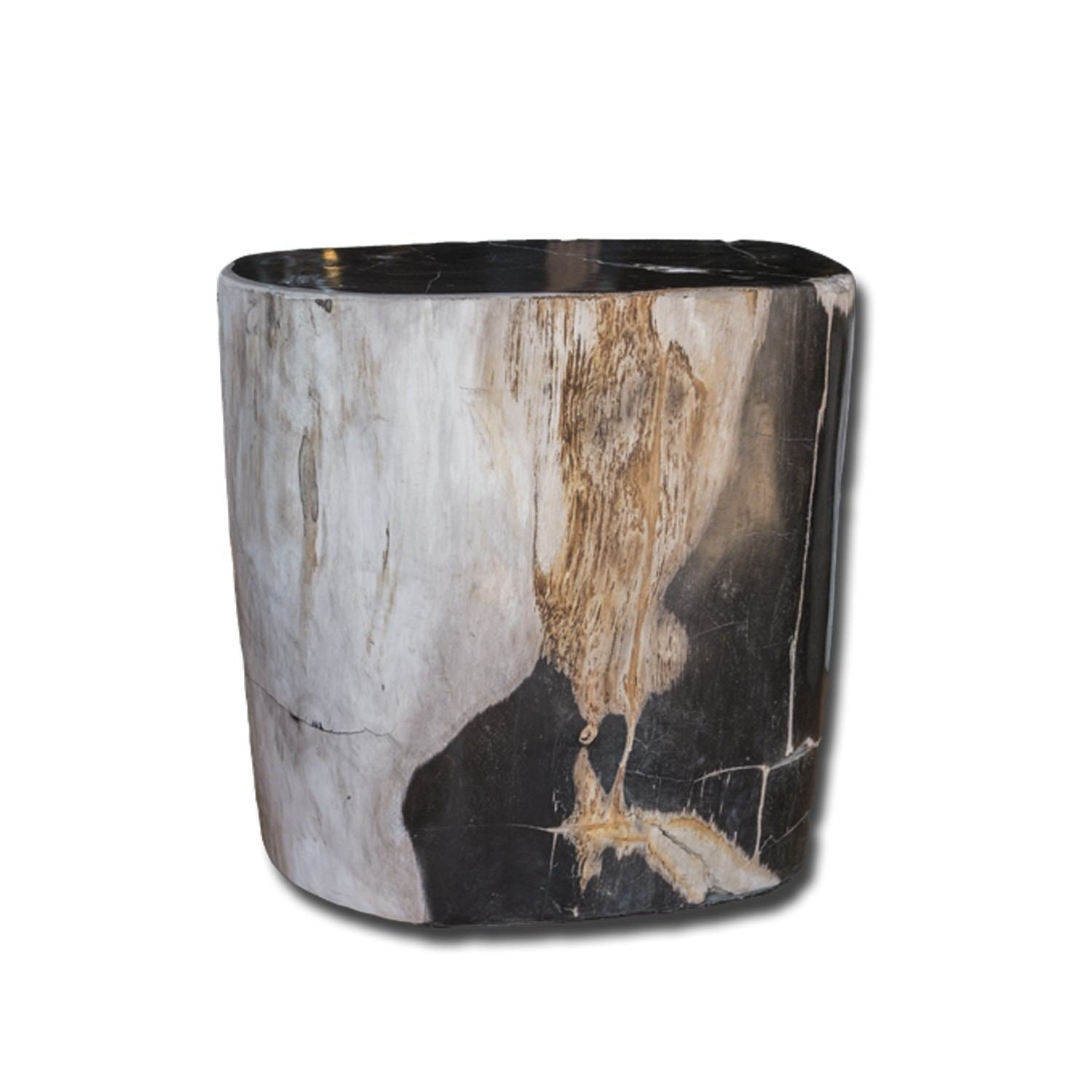 PF-2151 Petrified Wood Stool by AIRE Furniture