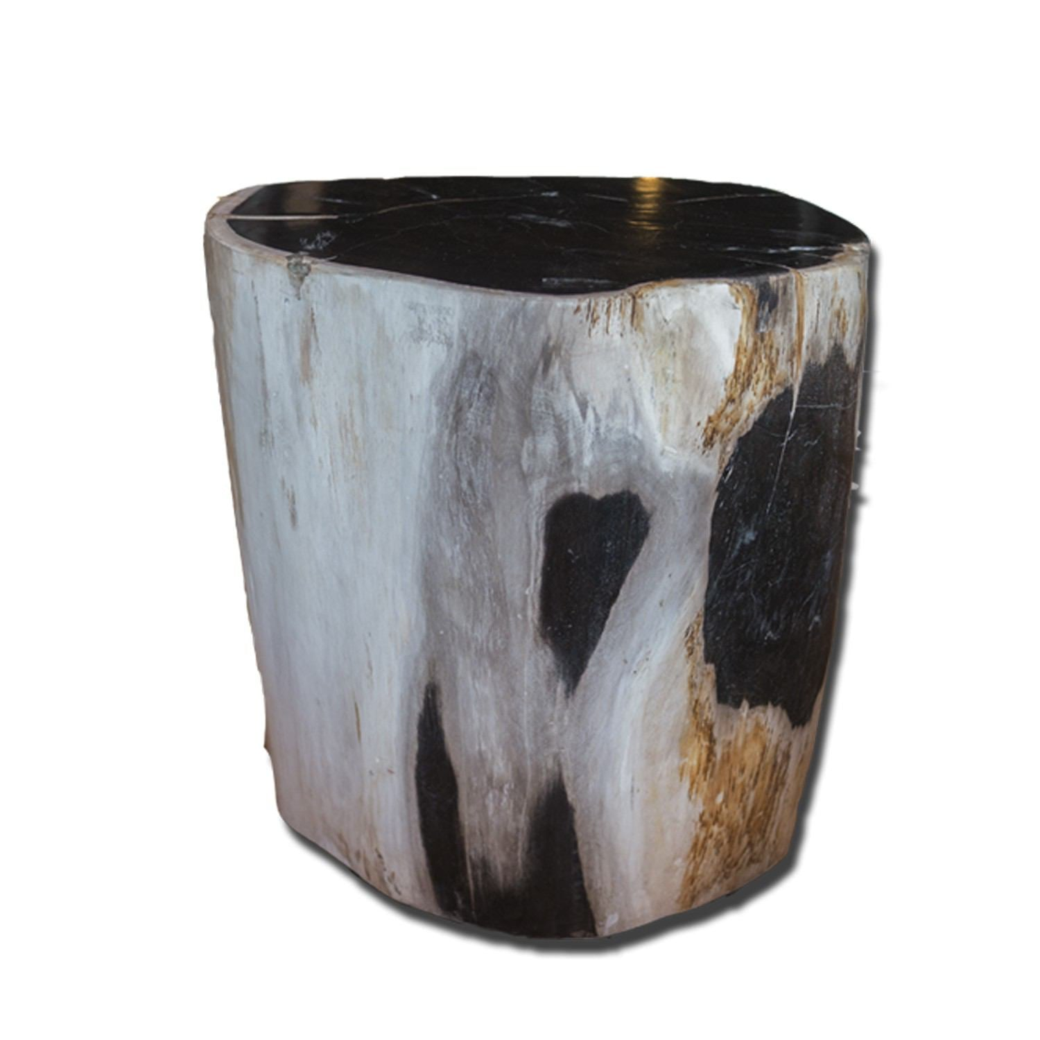 PF-2155 Petrified Wood Stool by AIRE Furniture