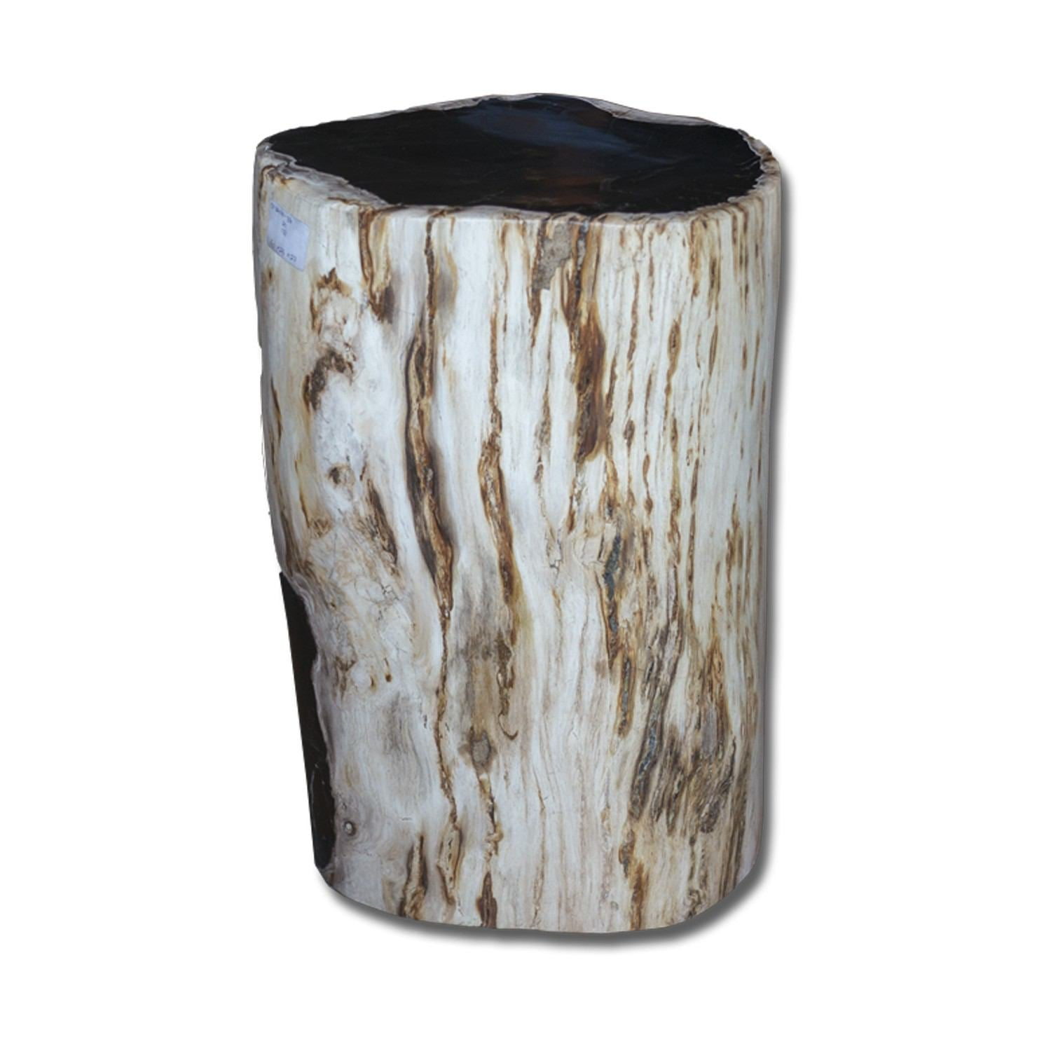 PF-2160 Petrified Wood Stool by AIRE Furniture