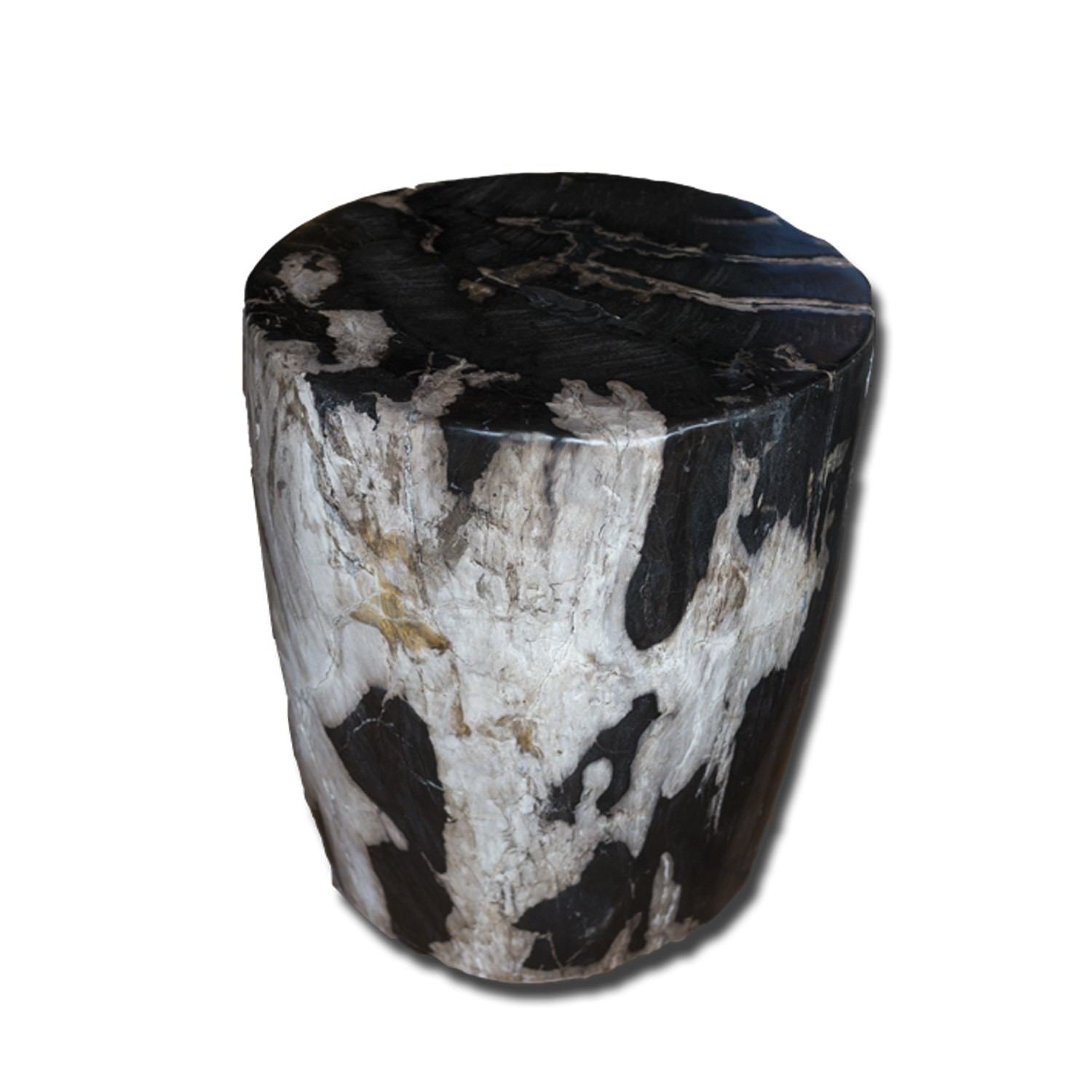 PF-2162 Petrified Wood Stool by AIRE Furniture
