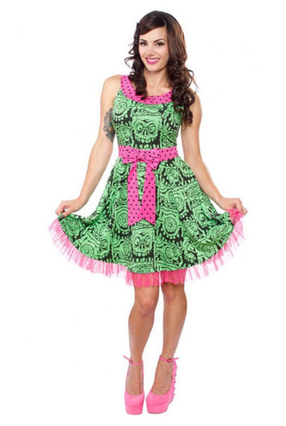 Melting monster dress