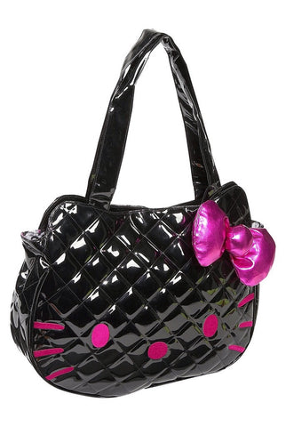 Hello kitty black face bag