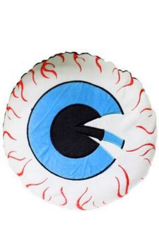 Eye ball throw pillow
