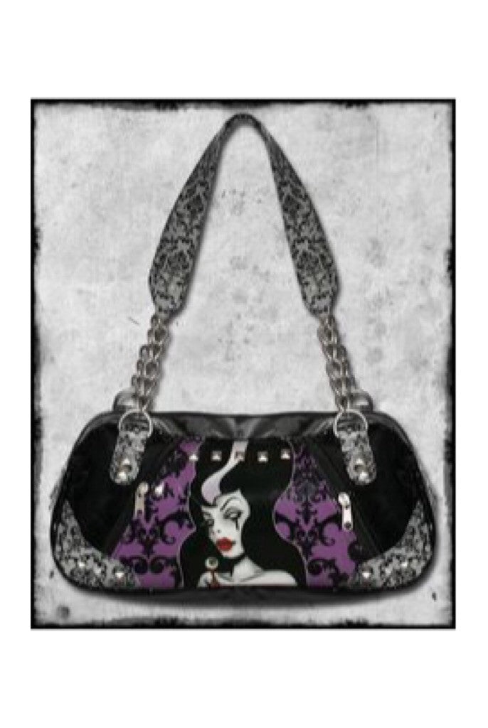 Miss Frankenstein patent purse