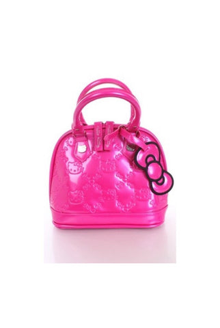 Hello kitty embossed mini tote- pink