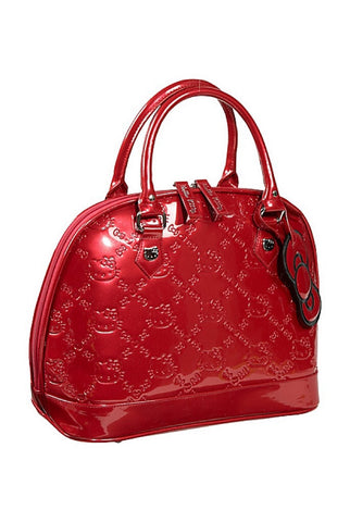 Hello kitty embossed tote