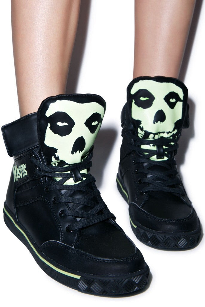 Misfits glow in the dark sneaker