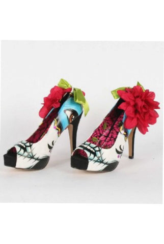 Lady killer peep toe platform