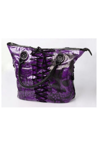 American nightmare purple tote