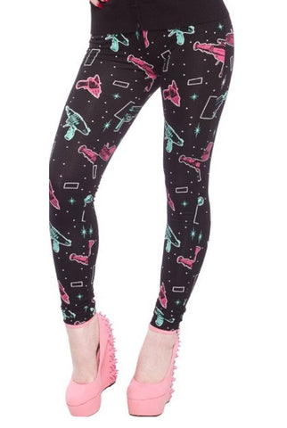 Ray guns leggings