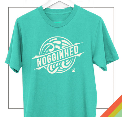 Medallion Waves | Surf Shirt | Nogginhed Tshirt