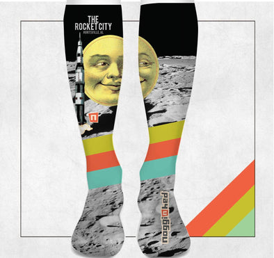 """Dark Moon Huntsville"" Knee Socks 