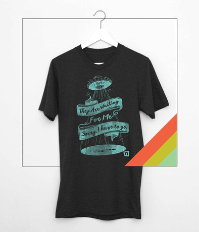NOGGINHED Brand Tshirts Small / Black Heather 'Close Encounters of Some Kind' Tshirt