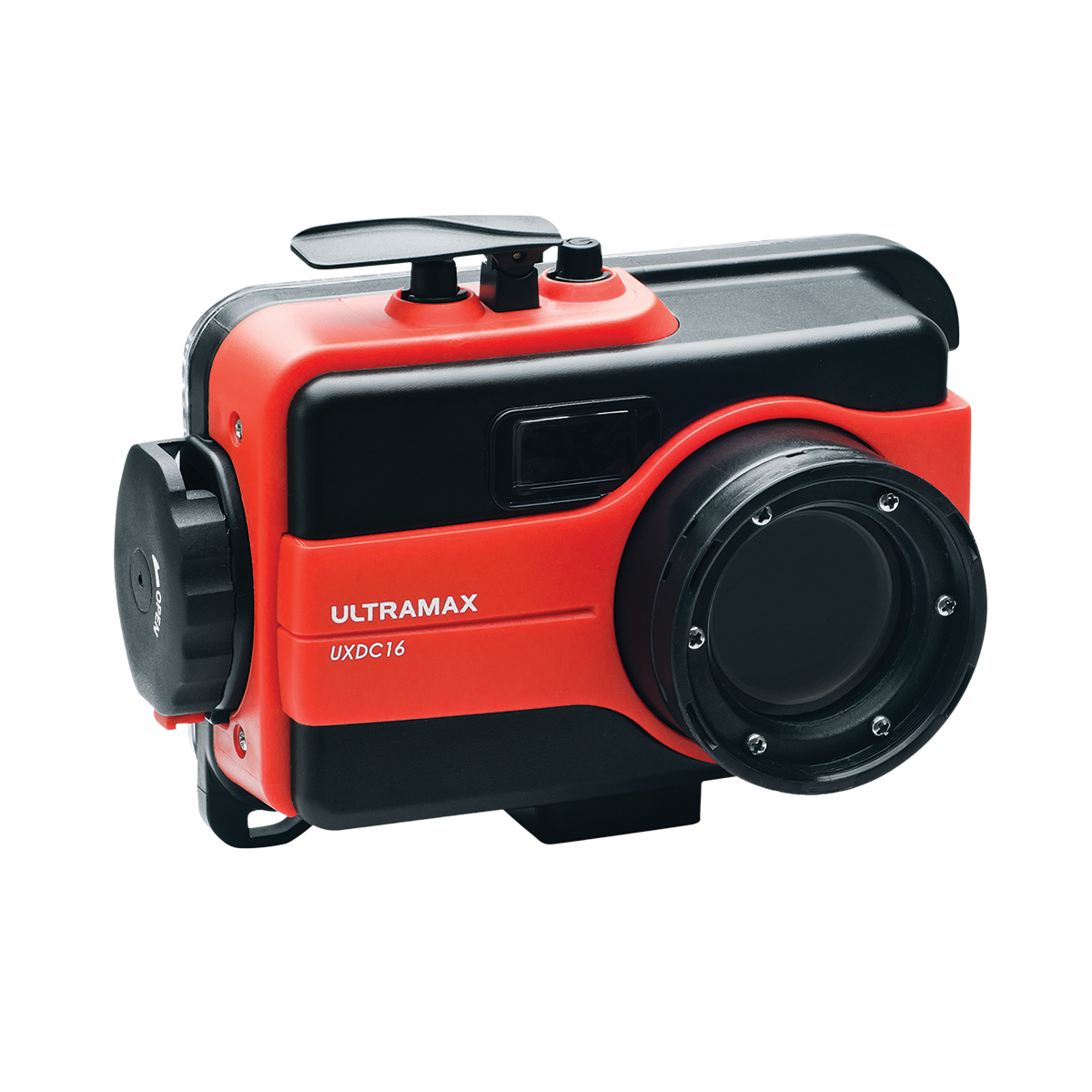 Replacement Waterproof Housing for UXDC-16 Digital Camera - red