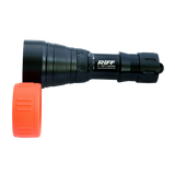 RIFF Hight Power LED Dive Video Light with Flash 2700 Lumens - side