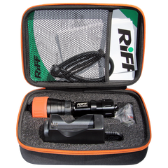 RIFF Hight Power LED Dive Video Light with Flash 2700 Lumens - carrying case