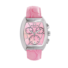 Uxtyle TM Styled Water Watch Ladies - pink - front