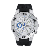 Uxtyle TM Chronograph Dive Watch - white/blue - front