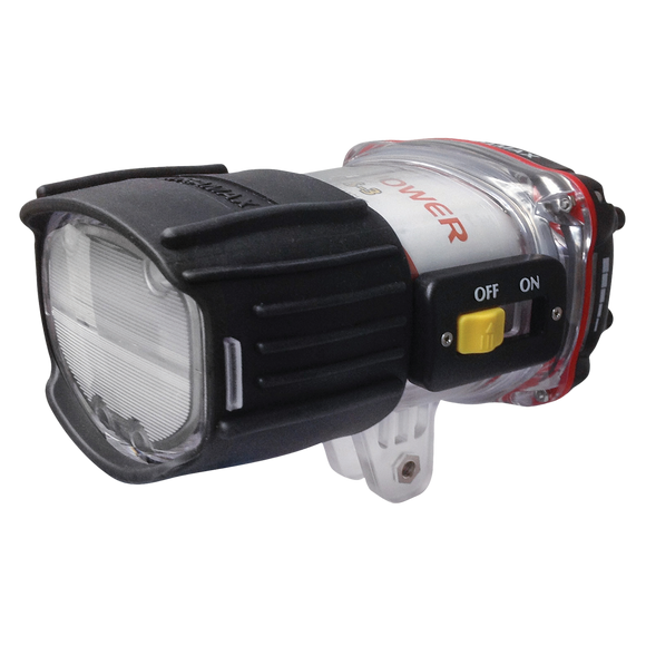 Ultrapower Underwater Strobe Head with Diffuser - front