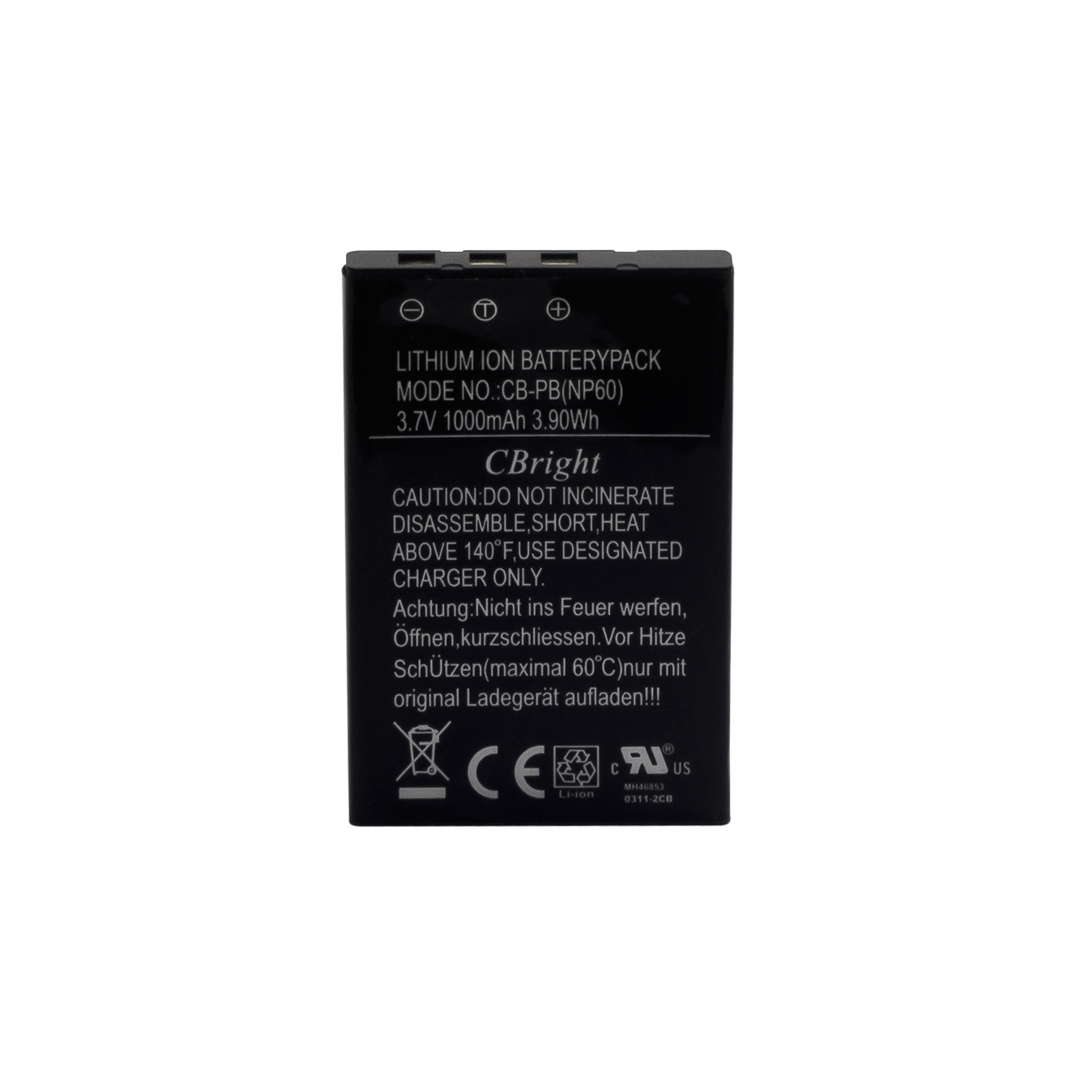 Battery for UXDV-3 and UXDV-3HD
