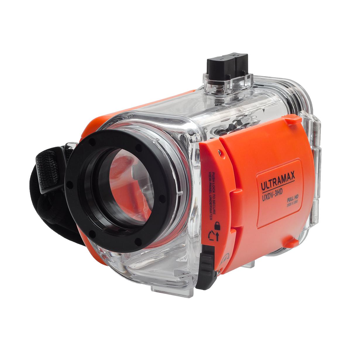 Underwater Digital Video Camera HD Housing - front