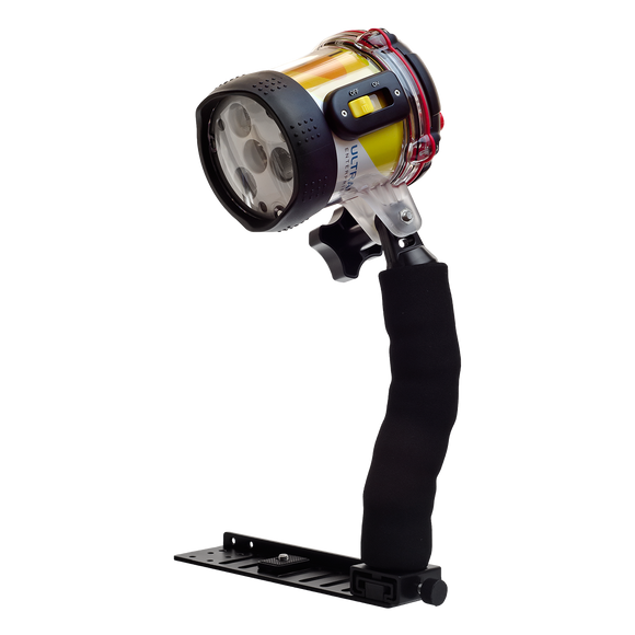 Ultrapower-II Underwater Video LED Dive Light Premium Package - front